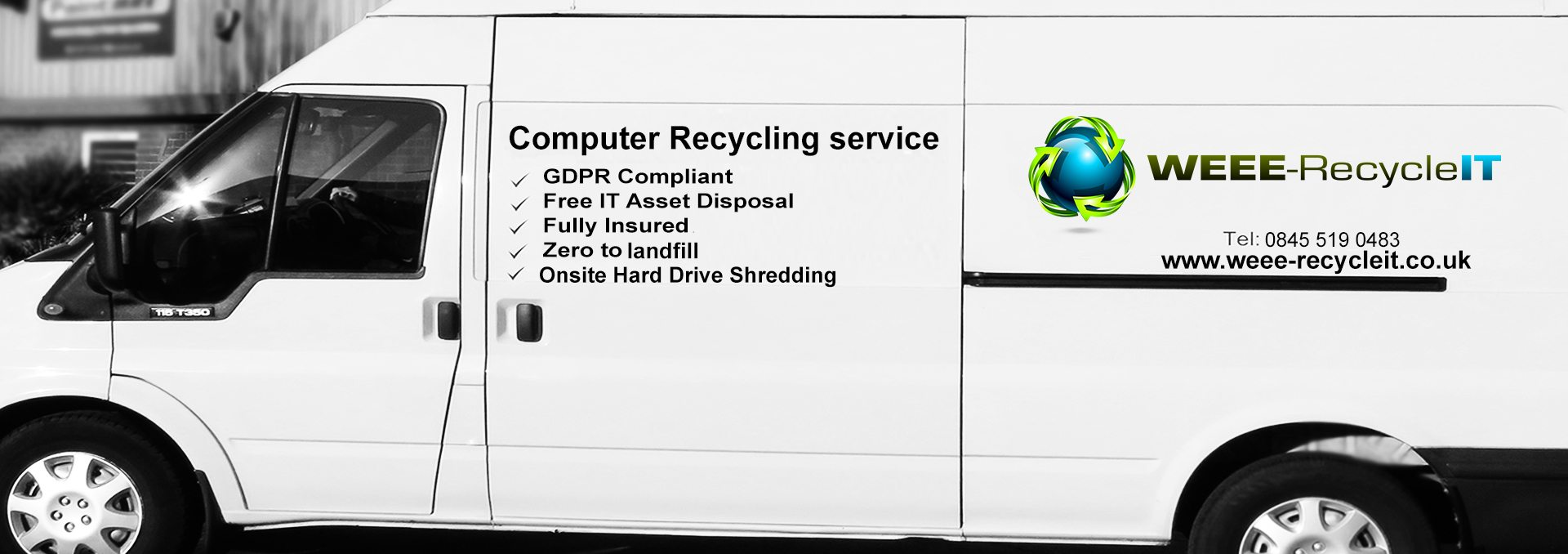 WEEE Recycle IT Van