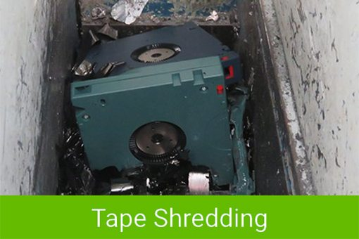Confidential Destruction Of Magnetic Tapes